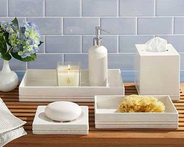 35 dicas de como decorar banheiros fotos e dicas for Objetos baratos para decorar