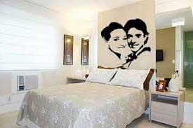 Imagens e dicas de Quarto de casal com foto na parede