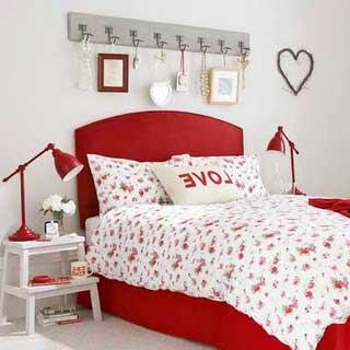 decoração romântica e fofa para quartos de casal