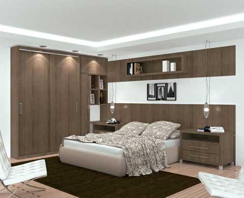 40 dicas de decora o de quartos de casal for Pequeno mueble para dormitorio adulto