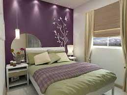 como decorar quarto de casal roxo