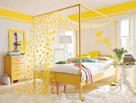 40 decora o de quarto feminino simples e barato for Papel para paredes baratos