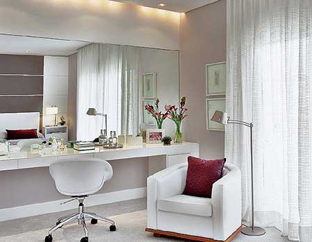 fotos e imagens de quartos femininos decorados