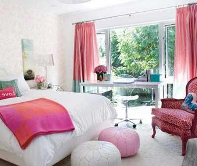 sugestões para decorar quartos de meninas