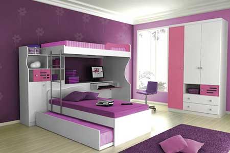 fotos de quartos femininos