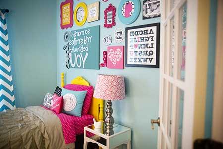 decoração para quartos femininos