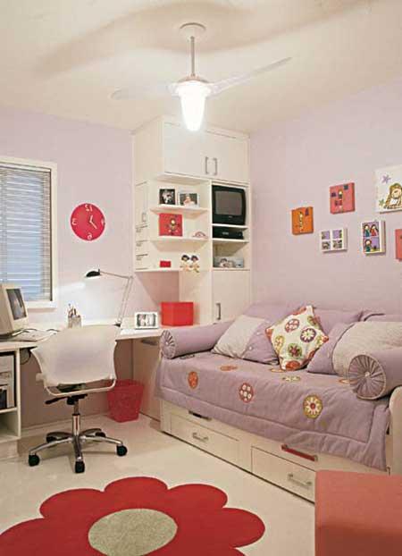 como fazer uma decoração simples para quarto