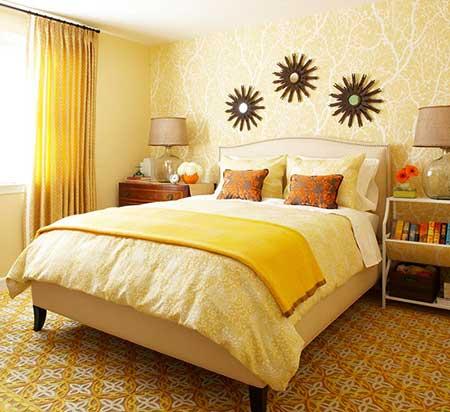 30 dicas de como decorar quartos pequenos for Quadros dormitorio