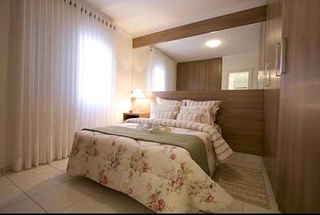 30 dicas de como decorar quartos pequenos for Dormitorio 3x5