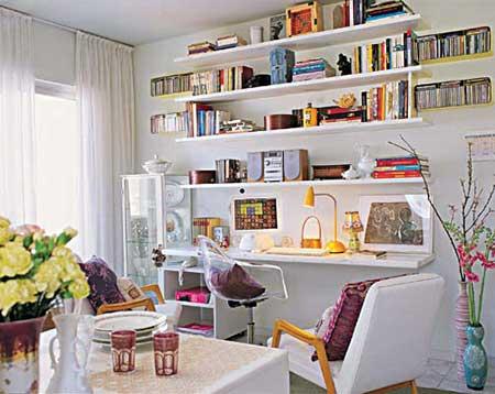 Sala de estar pequena e simples Sala de estar pequena para apartamento