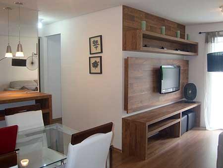 Fotos de salas decoradas dicas para decorar uma sala to - Decorar casa pequena ...