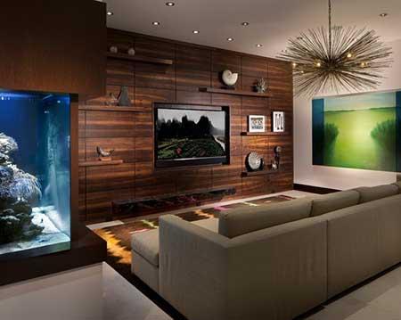 que você achou das fotos de salas de TV decoradas ! Comente