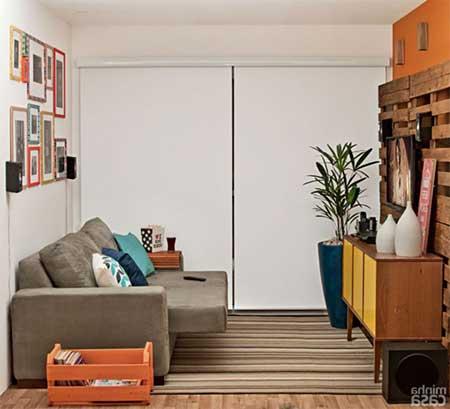 sugestões de como decorar salas de tv