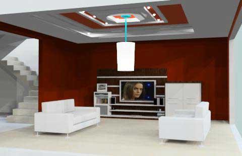 salas de tv planejadas para decoração