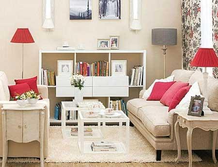 30 dicas decora o da sala de tv pequena simples grande for Sala de estar retro vintage