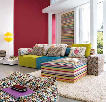 Decora o simples para salas pequenas e grandes - Interesting images of red and blue bedroom decorating design ideas ...