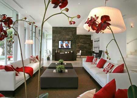 como decorar salas simples
