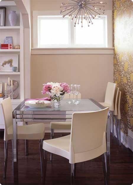 como decorar salas de jantar