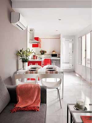 fotos de como decorar salas pequenas
