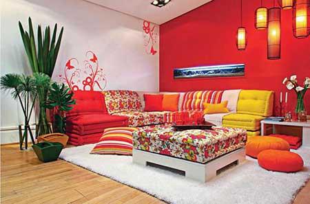 50 dicas de decora o para salas pequenas for Salon berbere moderne
