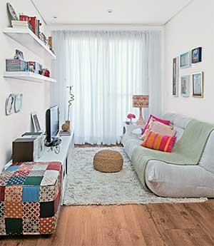 passo a passo de decoração para salas pequenas