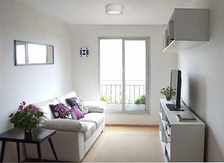 120 dicas de decora o para sala de estar for Salas de estar modernas y pequenas