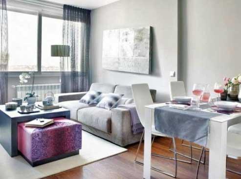 50 dicas de decora o para salas pequenas for Decoraciones de casas chicas