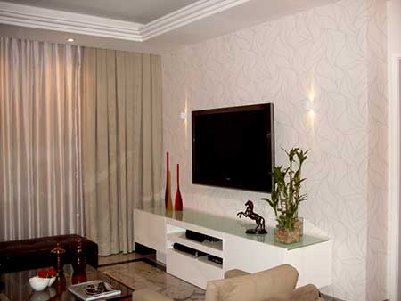 50 dicas de decora o para salas pequenas for Salas de television modernas