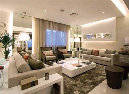 120 dicas de decora o para sala de estar for Sala de estar imagenes