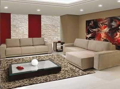 dicas de salas de estar da moda