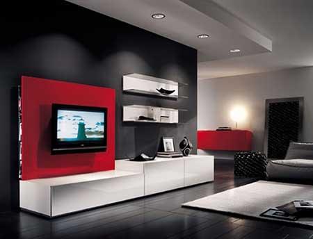 Salas de estar decoradas com tv fotos e modernas holidays oo for Salas modernas