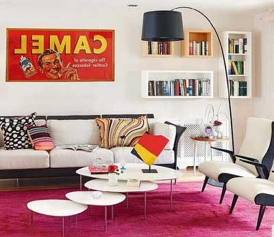 sugestões para salas de estar