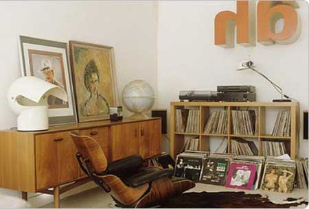 120 dicas de decora o para sala de estar for Sala de estar estilo vintage