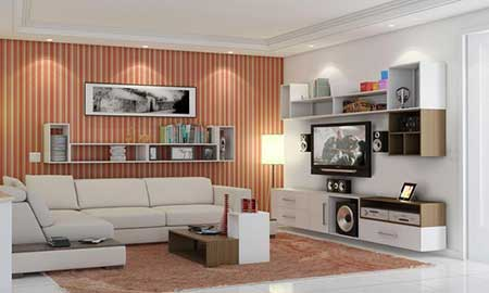 120 dicas de decora o para sala de estar for Fotos de sala de estar simples