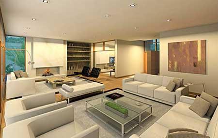120 dicas de decora o para sala de estar for Sala grande