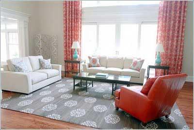 dicas de tapetes para sala de estar