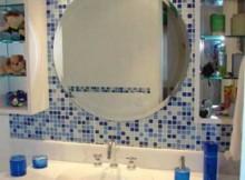 tendências de banheiros decorados com pastilhas