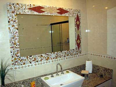 sugestões de banheiros com pastilhas