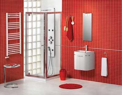 como decorar banheiros com pastilhas