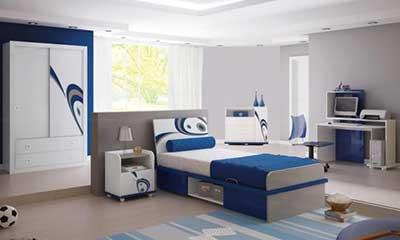 fotos de quartos de solteiro decorados