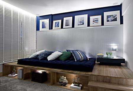 foto de quarto masculino decorado
