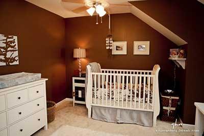 imagem de quarto masculino decorado