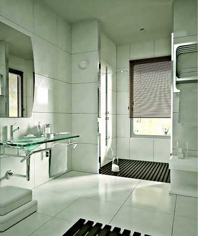 #474565 30 Dicas Decoração Simples para Casas Pequenas e Grandes 400x477 px Banheiro Simples Mas Bonito 2018 3797