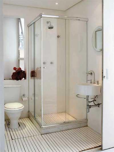 30 Dicas Decoração Simples para Casas Pequenas e Grandes -> Banheiro Feminino Simples