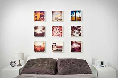 murais de fotos