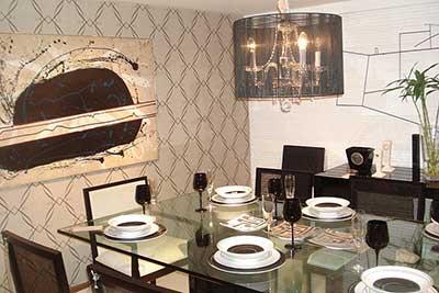 Sala rustica moderna apartamento