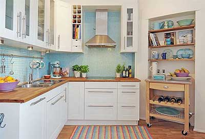 cozinha, onde movimentos são constantes e você precisa de espaço