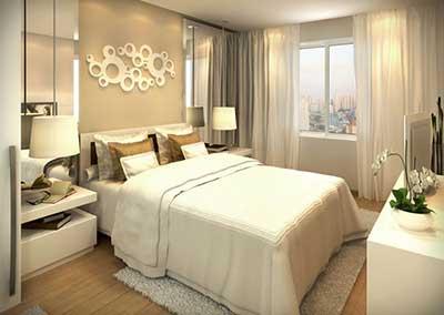 fotos de quartos decorados simples