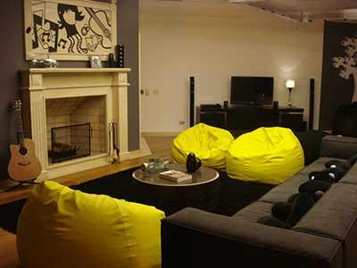 como decorar sala de estar simples