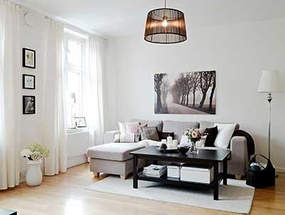 fotos de sala de estar simples